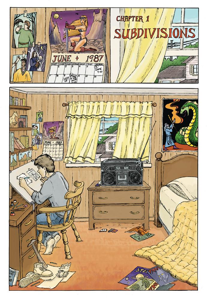 1. Mark's Room